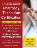 Pharmacy Technician Certification Study Guide 2020 and 2021 Book