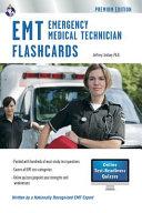 EMT Flashcards (Book + Online Quizzes)