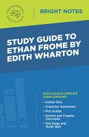 Study Guide to Ethan Frome by Edith Wharton PDF