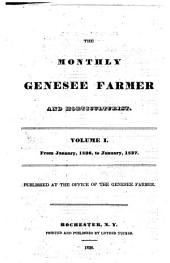 The Monthly Genesee Farmer: Volume 1
