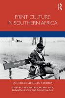 Print Culture in Southern Africa PDF