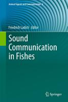 Sound Communication in Fishes PDF