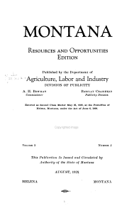Resources and Opportunities of Montana PDF