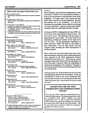 APDU Newsletter PDF