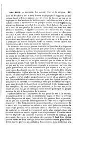 Analyse de : A. Fouillée, La Morale, l'art et la religion, d'après M. Guyau