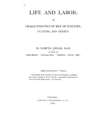 Life and Labor  Or Characteristics of Men of Industry  Culture and Genius PDF