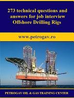 273 technical questions and answers for job interview Offshore Drilling Rigs PDF
