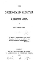 The green eyed monster  by Whatshisname PDF