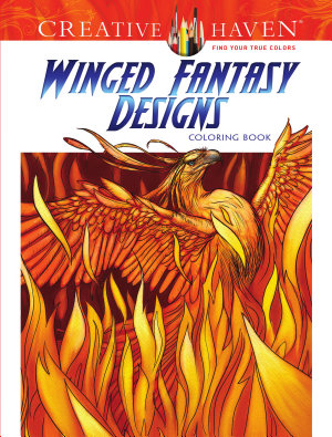 Creative Haven Winged Fantasy Designs Coloring Book PDF
