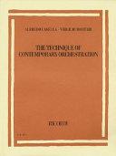 Alfredo Casella/Virgilio Mortari - the Technique of Contemporary Orchestration