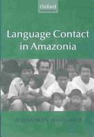 Language Contact in Amazonia PDF