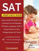 SAT Prep 2017 2018 PDF