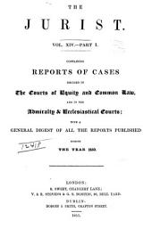 The Jurist: Volume 14, Part 1