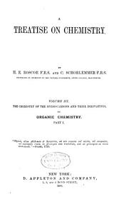 A Treatise on Chemistry: Volume 3, Part 1