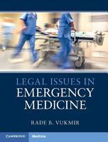 Legal Issues in Emergency Medicine PDF