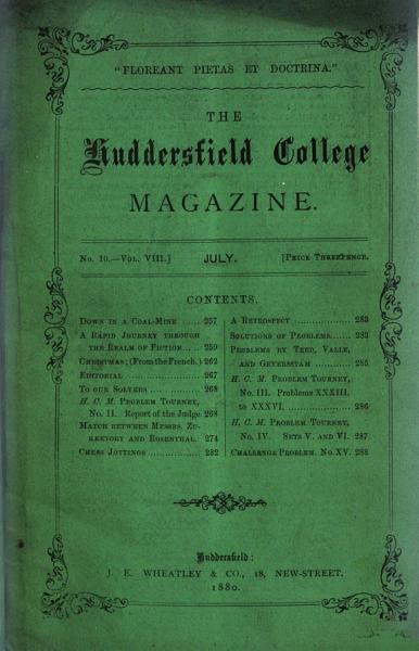 Download Huddersfield College Magazine Book