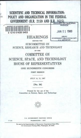 Scientific and Technical Information PDF
