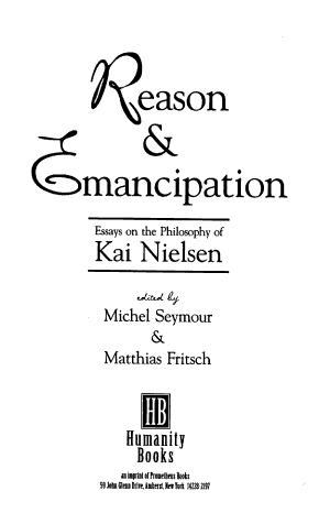 Reason & Emancipation