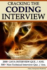 Cracking The Programming Interview :
