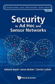 Security In Ad Hoc And Sensor Networks