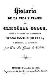 Historia de la vida y viajes de Cristóbal Colon: Volumen 1