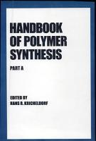 Handbook of Polymer Synthesis PDF