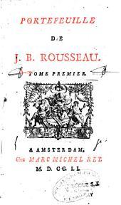 Portefeuilles de Jean-Baptiste Rousseau