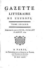 Gazette littéraire de l'Europe: Volume2