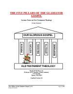 Five Pillars of the Gladiator Gospel, Form #17.004