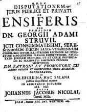 De ensiferis