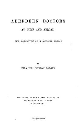 Aberdeen Doctors at Home and Abroad PDF