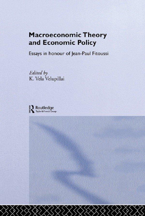 Macroeconomic Theory and Economic Policy