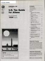 U.S. Tax Guide for Aliens