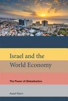 Israel and the World Economy PDF