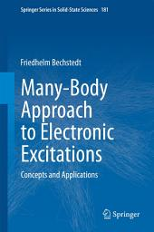 Many-Body Approach to Electronic Excitations: Concepts and Applications