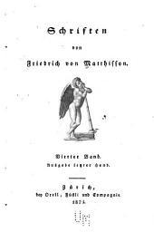 Schriften: Friedrich von Matthisson's Leben