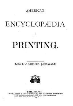 American Encyclopaedia of Printing PDF