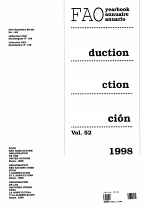 FAO Production Yearbook, 1998