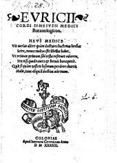 Botanologicon. - Coloniae, Joannes Gymnicus 1534