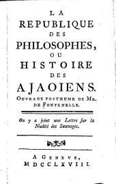 La république des philosophes ou histoire des Ajaoiens