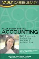 Vault Career Guide to Accounting PDF
