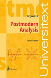 Postmodern Analysis: Edition 2