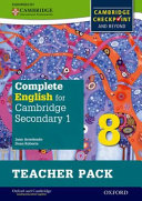 Complete English for Cambridge Secondary 1 PDF