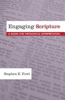 Engaging Scripture PDF