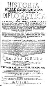 Historia Ecclesiae Gandershemensis Diplomatica