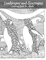 Landscapes and Seascapes Coloring Book for Adults 1
