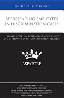 Representing Employees in Discrimination Cases PDF