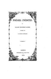 Poe sies ine dites de Madame Desbordes-Valmore