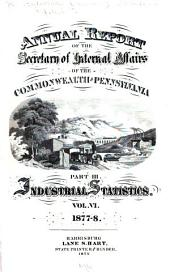 Report: Volume 6, Parts 1877-1878