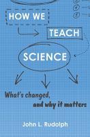 How We Teach Science PDF